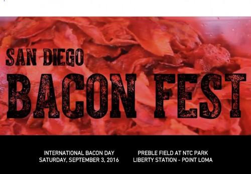 San Diego Bacon Fest 2016