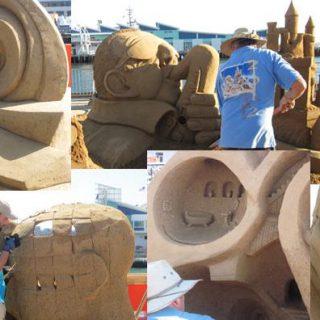 US Sand Sculpting Challenge & Dimensional Art Exposition 2016