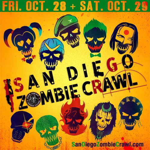 San Diego Zombie Crawl 2016