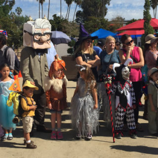 halloween family day balboa park 2017
