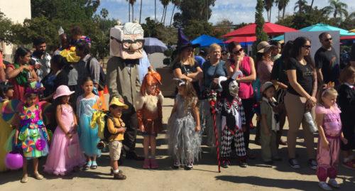 halloween family day balboa park 2017