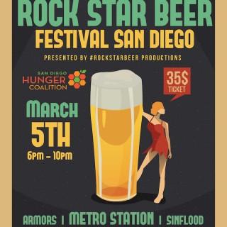 San Diego Rockstar Beer Festival in SILO 2016
