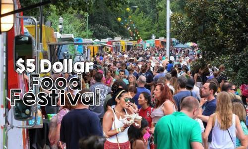 $5 Dollar Food Festival 2016