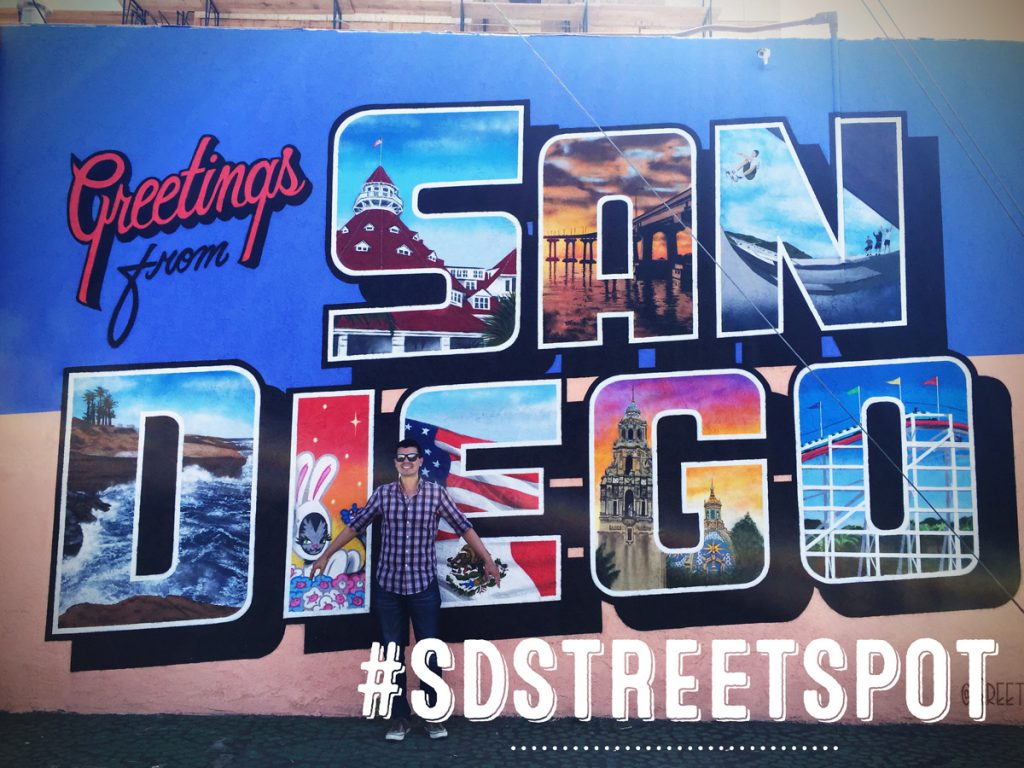 Tag your photos or videos with #SDSTREETSPOT to be included
