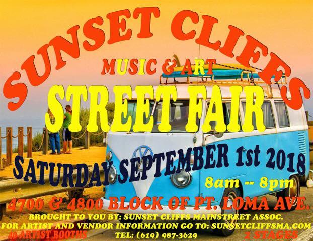 Sunset Cliffs Music & Arts Street Fair